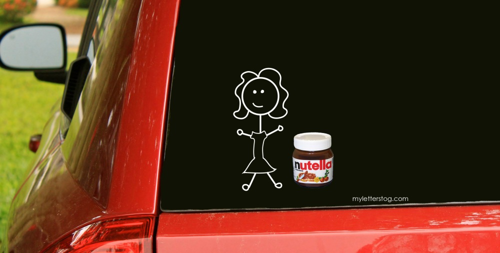 girl and nutella 2